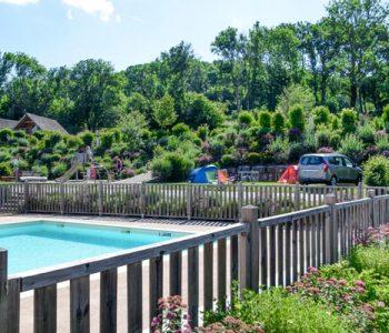 piscine familial camping ain