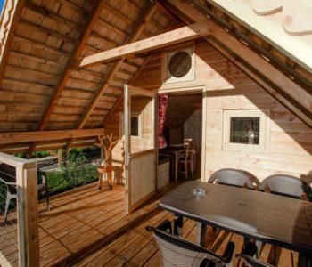 camping cabane 3 étoiles